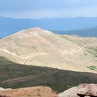 Picture - View of Mount Evans summit.