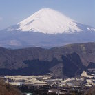 Picture - The view to Mt Fuji.