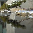 Picture - Japanese water garden near the foot of Mt Fuji.