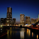 Picture - Night lights of Yokohama.