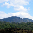 Picture - View of Mt.Hiei outside of Kyoto.