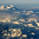 Picture - Aerial view of Mount McKinley in Denali National Park.