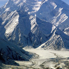 Picture - View from the base of Mount McKinley.