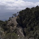 Picture - View over the hiking trail on Mount Meru.