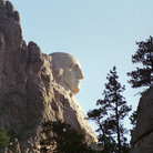Picture - Early morning light on Mount Rushmore.