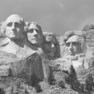 Picture - Mount Rushmore National Memorial.