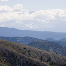 Picture - Mount Adams seen from Mount St Helens National Volcanic Monument.