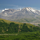 Picture - View of Mount St Helens volcano.