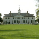Picture - George Washington's home at Mount Vernon.