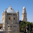 Picture - Dormition Abbey at Mount Zion.
