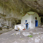 Picture - Cave church on Mt Olympus.