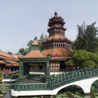 Picture - Traditional building in the garden of Muang Boran, Samut Prakan.