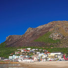 Picture - The seaside town of Muizenberg.