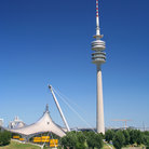 Picture - Olympic Park in Munich.