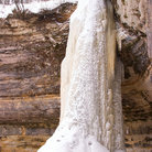 Picture - Frozen waterfalls at Munising.