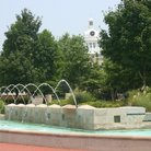 Picture - Fountains at the courthouse in Murfreesboro.