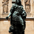 Picture - Statue of Louis XIV at Musee Carnavalet in Paris.