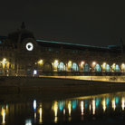 Picture - The Musée d'Orsay in Paris at night.