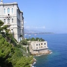 Picture - Le Musee Oceanographic in Monaco, a palace above sea.