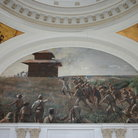Picture - A mural at the Museum of the Revolution in Havana.