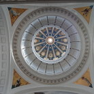 Picture - Ornate ceiling of the Museum of the Revolution in Havana.