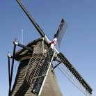 Picture - A windmill at Rijswijk.