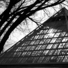 Picture - The pyramid of Muttart Conservatory.