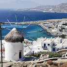 Picture - Overview of Mykonos.