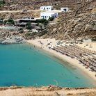 Picture - Beach at Mykonos.