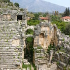Picture - The Roman Theater in Myra.