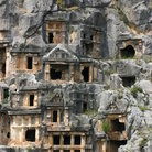 Picture - Tombs at Myra.