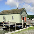 Picture - Oyster House at Mystic Seaport.