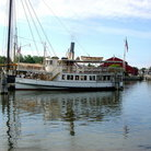 Picture - Steam boat at Mystic Seaport.