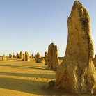 Picture - Formations in the Pinnacles Desert, Nambung National Park.