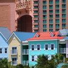 Picture - Colorful homes in Nassau.