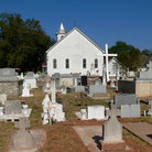 Picture - Historic cemetery in Natchitoches.