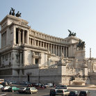 Picture - Victor Emmanuel II Monument in Rome was built between 1885 and 1911.