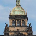 Picture - Dome of National Museum, Prague.