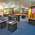 Picture - Front view of the Cutler Gallery in the National Music Museum in Vermillion, SD.