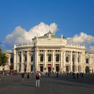 Picture - View of the Burgtheater in Vienna.