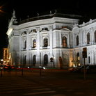 Picture - The 19th century Burgtheater in Vienna in Late Renaissance style.