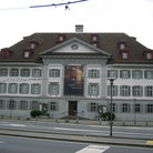 Picture - The Nature Museum which includes ecological exhibit with living animals in Lucerne.