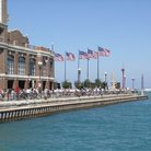 Picture - Navy Pier in the summer, Chicago.
