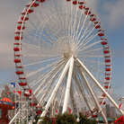 Picture - Ferris wheel on Navy Pier in Chicago.