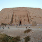 Picture - Overview of Abu Simbel.