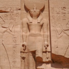 Picture - God of Sun at Abu Simbel.