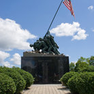 Picture - The Iwo Jima Memorial Statue located in New Britain.
