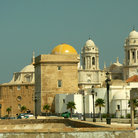 Picture - Cathedral in Cadiz.