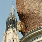 Picture - Tower of the New Church in Delft.
