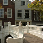 Picture - Bridge over a canal in Delft.